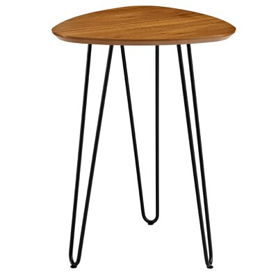 Goldner Hairpin Leg Wood End Table