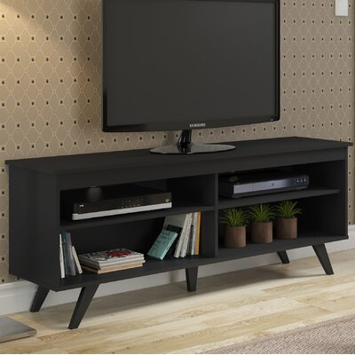 Bissonnette 58 TV Stand Color: Black