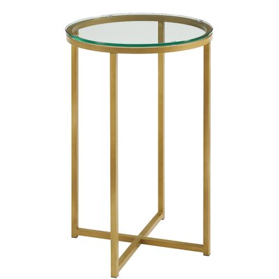 Angeles Round End Table