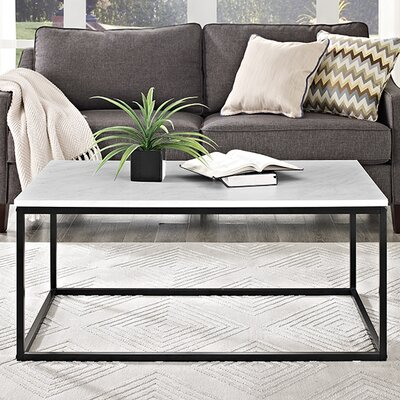 Arianna Coffee Table Finish: Marble