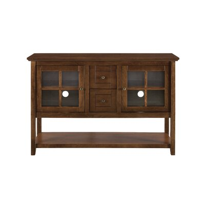 Sylar 52 TV Stand Color: Walnut