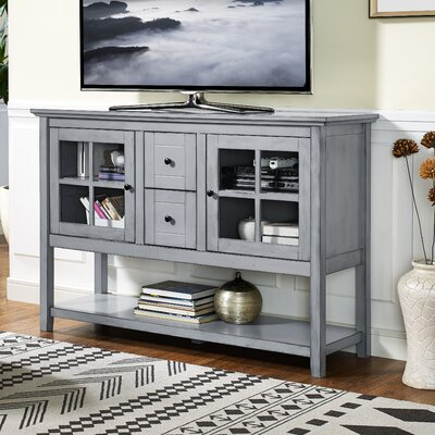 Sylar 52 TV Stand Color: Antique Gray