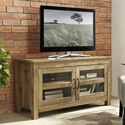 Dunmore 44 Wood TV Stand Color: Barnwood