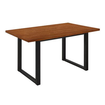 Shander Wood Dining Table Finish: Antique Brown