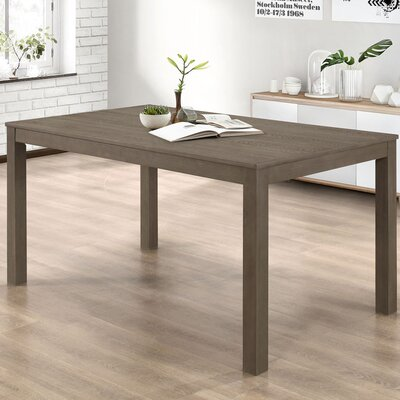 Chetna Wood Dining Table Finish: Aged Gray