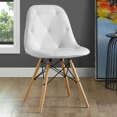 Rawley Side Chair Upholstery: White
