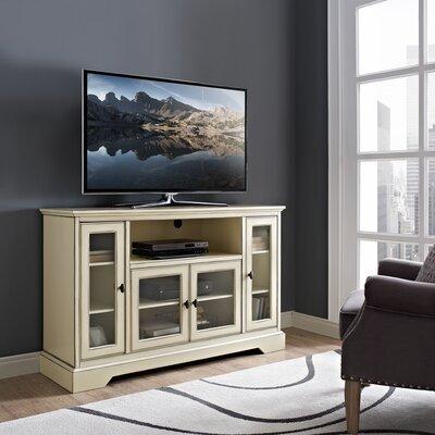 Josie 52 TV Stand Color: Antique White