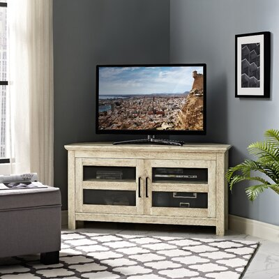 Galbraith 44 TV Stand Color: White Oak