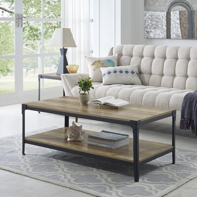 Arboleda Coffee Table Color: Rustic Oak