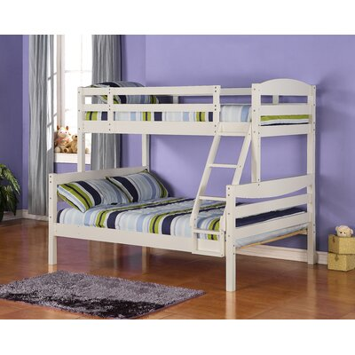 Wood Bunk Beds Stairs on Beds   Wayfair   Kids Loft  Triple Bunk Bed For Children  With Stairs