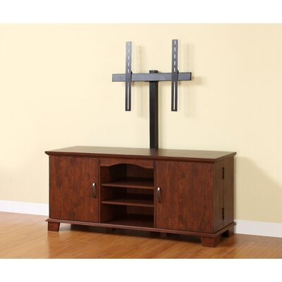 Cheap Home Loft Concept 60″ Wood TV Console with Mount – Traditional Brown (WLK1249)