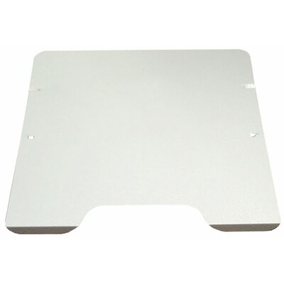 10.63 W Desk Keyboard Platform Finish: Platinum