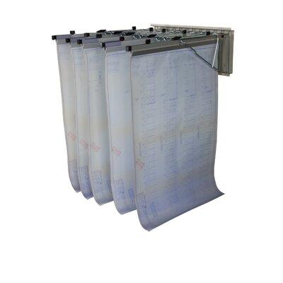 Pivot Wall Hanging File Cart