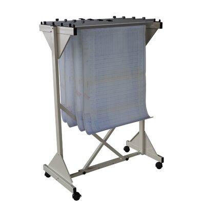 Mobile Drop Lift Hanging File Cart