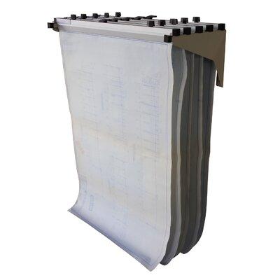 Wall Drop Lift Hanging File Rack