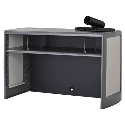 18.5 H x 30 W Desk Hutch Finish: Charcoal