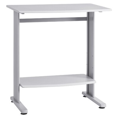 36.75 W Computer Table Tabletop Finish: Grey