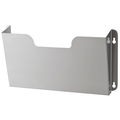 Letter Size Wall Pocket Finish: Platinum