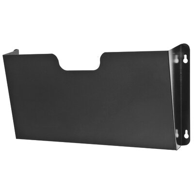 Legal Size Wall Pocket Finish: Black