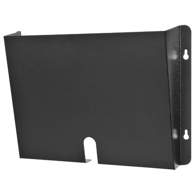Letter Size HIPAA Wall Pocket Finish: Black