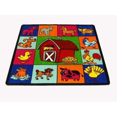 Farm for Babies Area Rug