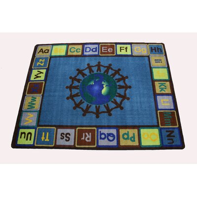Earth Tone Alpha World Area Rug