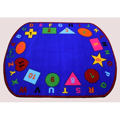 Star of Shapes Area Rug