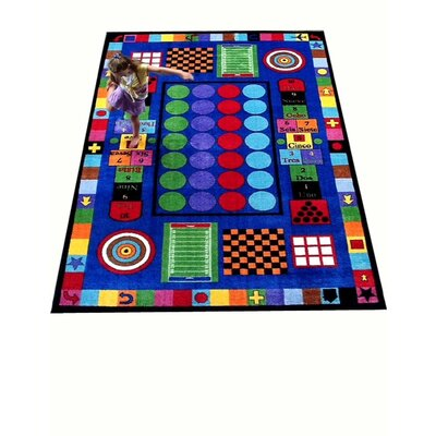 Game Time Area Rug Rug Size: Rectangle 66 x 84