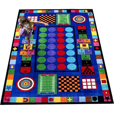 Game Time Area Rug Rug Size: Rectangle 5 x 8