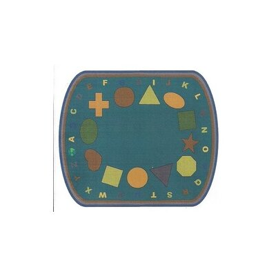 Shapes Earth Tones Indoor Area Rug