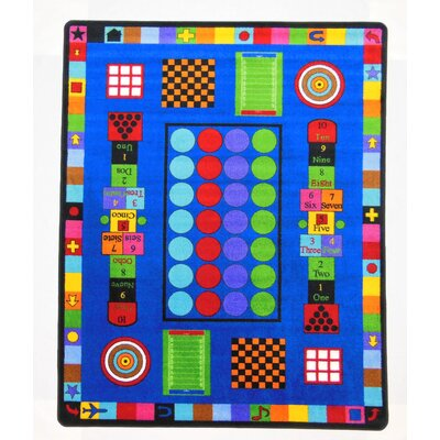 Game Time Area Rug Rug Size: Rectangle 8 x 12