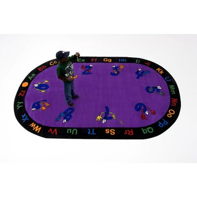 Counting Hands Kids Rug Rug Size: Oval 66 x 84