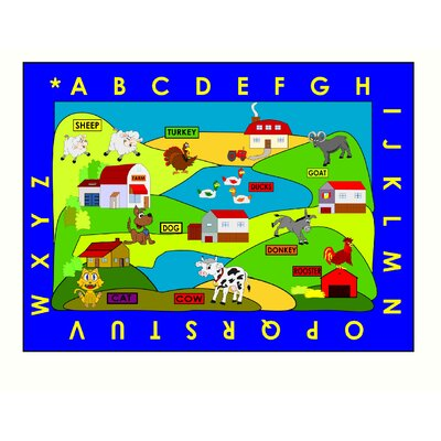 Farm Village Area Rug Rug Size: Rectangle 33 x 48