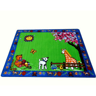 Infant Green Toys Area Rug Rug Size: 66 x 84
