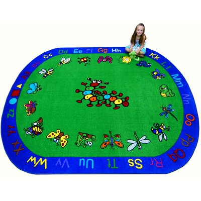 Critters Kids Rug Rug Size: Oval 8 x 10