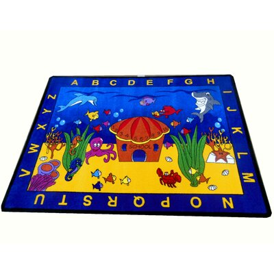 See the Sea Area Rug Rug Size: 44 x 56