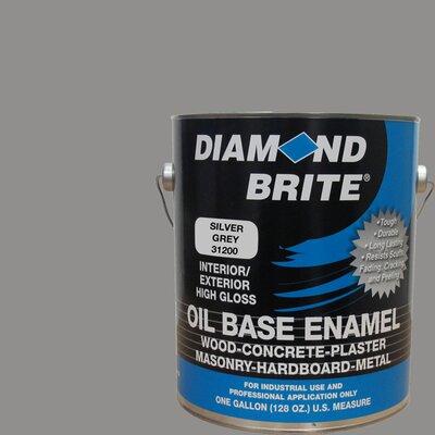 Diamond Brite Oil Base All Purpose Enamel Paint - Size: 1 Quart, Color: Silver Grey at Sears.com