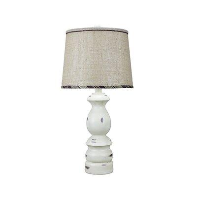 """Keuka Plaid Trim 30"""" Table Lamp"""