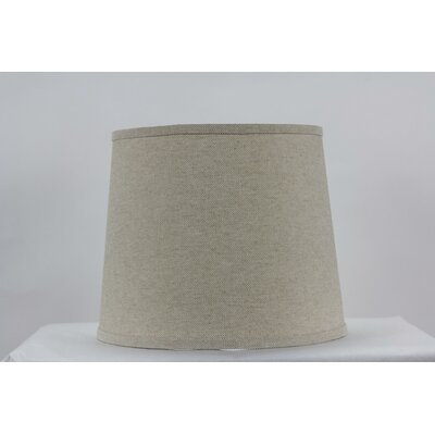Heavy Basket 10 Linen Drum Lamp Shade