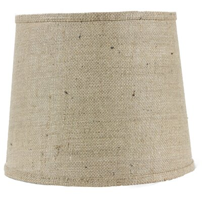 8 Linen Drum Lamp Shade Finish: Natural