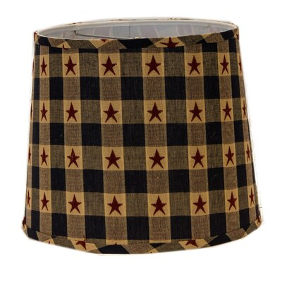Star Spangled 12 Linen Drum Lamp Shade