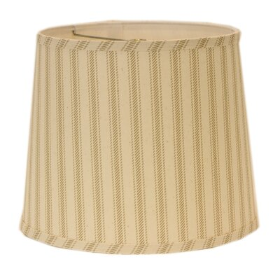 Ticking  5 Linen Drum Candelabra Shade