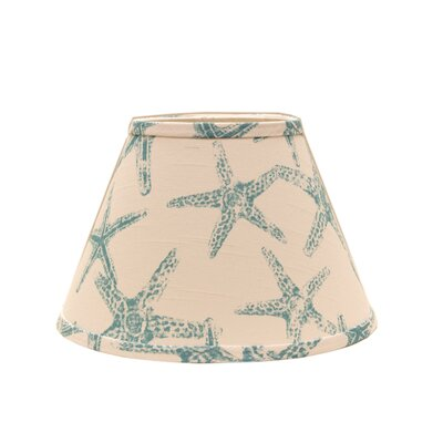 Star Fish 5 Linen Empire Candelabra Shade