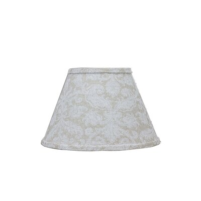 Damask Flax 6 Linen Empire Lamp Shade