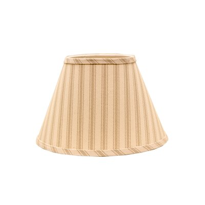 Ticking 5 Linen Empire Candelabra Shade