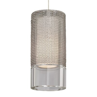 Manchon 1-Light Monopoint Satin Nickel Pendant