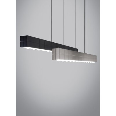 Biza Kitchen Island Pendant Finish: Satin Nickel, Bulb Type: 80 CRI 3000L 120 V LED