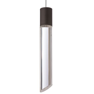 Tibor 1-Light Monorail Mini Pendant Finish: Black