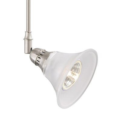 Adler 1-Light Track Head Finish: Satin Nickel, Size: 18 H x 1.6 W x 1.4 D