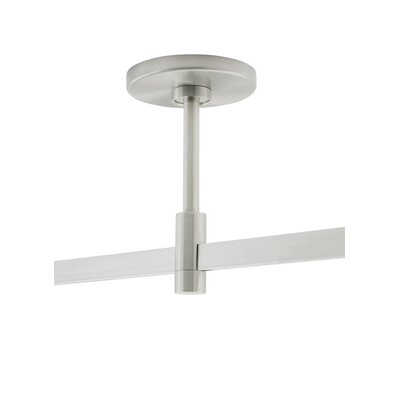 Power Feed Single-Circuit T-Trak Canopy Finish: White, Size: 36 H x 4.5 W x 4.5 D